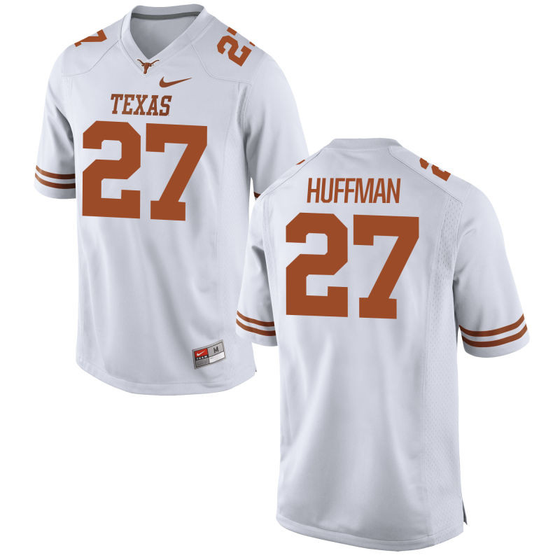 Men's Nike  #27 Limited White Texas Longhorns Alumni Football Jersey (Connor Huffman)